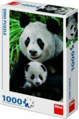 Dino Toys Puzzel Panda Familie 1000 stukjes - Volwassenen en kinderen