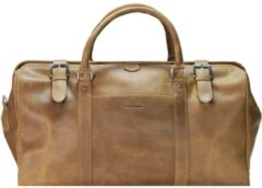 Harold's Toro Bügel-Reisetasche Leder 50 cm Damen braun