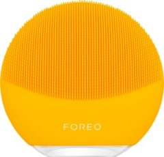 Gele FOREO LUNA mini 3 Elektrische Gezichtsreiniger voor Alle Huidtypen, Sunflower Yellow