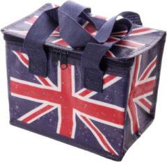 Donkerblauwe Puckator Geweven Koeltas - Ted Smith Britse Vlag