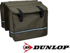 Dunlop Dubbele Fietstas - Bruin - 26 liter