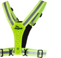 Gele Rogelli - Reflectie Led Vest - Neon Yellow - One Size