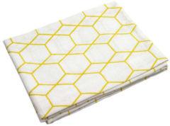 Gele Briljant Baby hydrofiel luiers - Grid 70 x 70 cm - ochre - 3 stuks