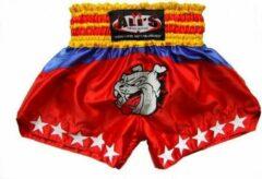 Ali's Fightgear Ali's Fightgear Kickboks broekje Unisex - Rood - Maat S