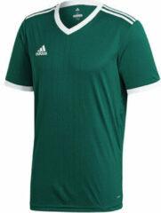 Adidas Tabela 18 SS Jersey Teamshirt Heren Sportshirt - Maat XL - Mannen - groen