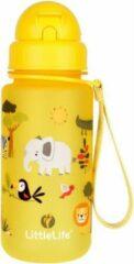 Littlelife drinkfles safari junior 400 ml polyester geel