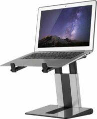Zilveren Newstar Foldable laptop stand - Silver/ black 10-16i max. 5kg