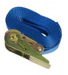 Blauwe Meuwissen Agro Spanband met ratelgesp 5mx25mm