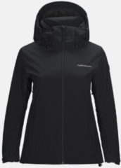 Zwarte PEAK PERFORMANCE ANIMA SKI JACK WOMAN