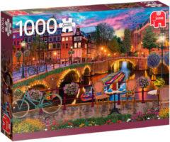 Jumbo Premium Collection Puzzel Amsterdam Canals - Legpuzzel - 1000 stukjes