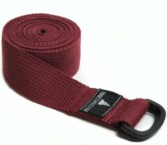 Bordeauxrode Yoga riem yogibelt - 260P bordeaux Yoga riem YOGISTAR