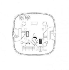 Steinel bewegingsschakelaar (cpl) PC PRO IR QUATTRO HD L6 COM1 AP kunststof, wit