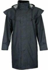 JC Blue Kapton Regenjas - Zwarte regenjas - Dames Regenjas Maat XL