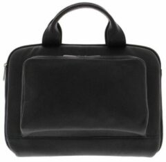 "Zwarte Plevier Laptopbag Organizer 14"" Black 492"