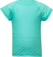 Snapper Rock Meisjes UV-zwemshirt - Turquoise - Maat 104-110