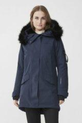 Donkerblauwe Tenson - Dames Outdoorjas - Himalaya Vision 2020 - Dark Blue - Maat 38