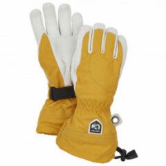 Hestra - Women's Heli Ski 5 Finger - Handschoenen maat 5, oranje/grijs