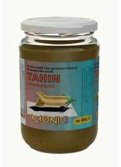 Afbeelding van Monki Tahin zonder zout eko 330 Gram