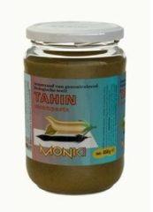 Monki Tahin zonder zout eko 330 Gram