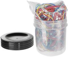 Elastieken Alco 65mm assorti - plastic doosje a 50 gram