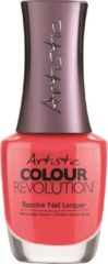 Roze Artistic Nail design Colour Revolution 'Owned'