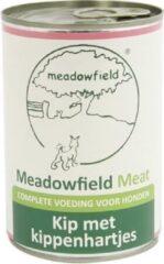 Meadowfield Blik Hondenvoer - Kip/hart