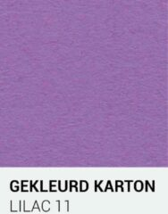 Paarse Gekleurdkarton notrakkarton Gekleurd karton lilac 11 A4 270 gr.