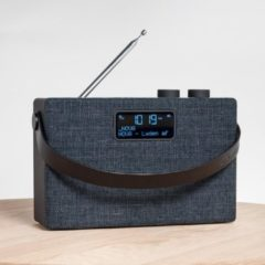 Zwarte Scansonic PA7001 - Draagbare radio DAB + / FM, AUX-ingang en Bluetooth