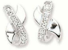 Best Basics Zilveren Oorbellen met zirconia 106.0856.00