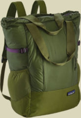Patagonia Lightweight Travel Tote Pack variable Schultertasche Volumen 22 sprouted green