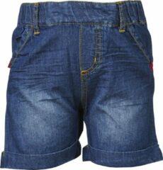 Blauwe Lego wear short meisjes jeans maat 80