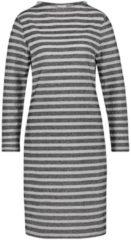 Kleid mit Ringeldessin Gerry Weber Silber-Grau-Schwarz