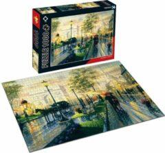 FDBW Puzzel Kunstwerken - Parijs | Kunst puzzel voor volwassene | Kunst Puzzel Collectie | Puzzel 1000 | Puzzel - 1000 stukjes | Puzzel – Parijs