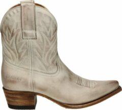 Sendra Gene Berdy dames cowboylaars - Ecru - Maat 39