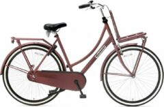 Popal - Daily Dutch Basic 28 Inch 57 Cm Dames Terugtraprem Rood
