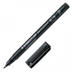 Penna sintetica Lumocolor Permanent 318 Staedtler nero 0,6 mm