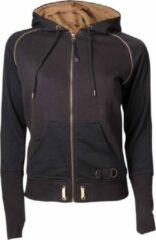 Zwarte Assassin's Creed Syndicate Black Zipped Hoodie Women (XL)