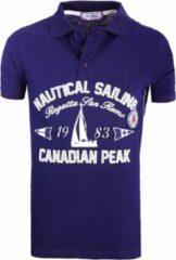 Blauwe Canadian Peak Poloshirts heren Heren Poloshirt 3XL