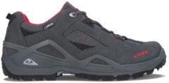 SIRKOS GTX® All Terrain Classic Schuhe Lowa asphalt/rot