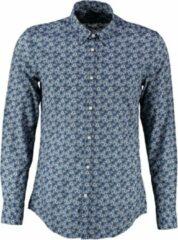 Antony morato soepel blauw slim fit overhemd - Maat S