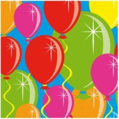 Folat Servetten balloons - 25 x 25 cm - 20 stuks