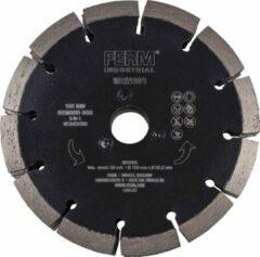 Zwarte FERM Industrial Diamantschijf – 150mm – 3-in-1 – Voor WCM1001P sleuvenfrees/muurfrees