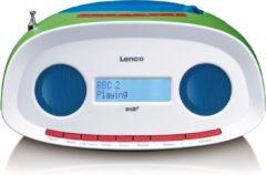 Witte Lenco SCD-70 - DAB+ Radio met CD-speler, MP3 en USB-aansluiting - Kids