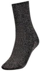 Zwarte Tommy Hilfiger Glitter Dames Sokken - 35-38