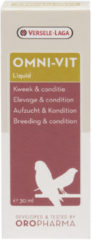Versele-Laga Oropharma Omni-Vit Liquid Kweek&Conditie - Vogelsupplement - 30 ml
