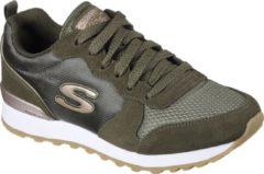 Skechers Retros Og 85 Goldn Gurl Dames Sneakers - Olive - Maat 38