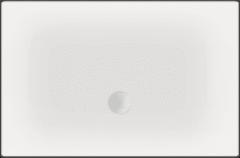 Witte Beterbad Xenz Luxe zelfdragende douchevloer Flat 140 x 90 x 3,5 cm