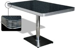 Bel Air Retro Eettafel TO-22W Blackstone - Bel Air Retro Eettafel TO-22W Blackstone