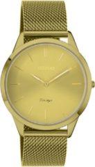 OOZOO C20005 Horloge Vintage staal mosterdgeel 38 mm