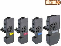 Cyane INKTDL XL Multipack Laser toners cartridges voor Kyocera TK-5230BK, TK-5231C, TK-5232M en TK-5233Y | Geschikt voor Kyocera Ecosys M5521, M5021 series CDN en CDW